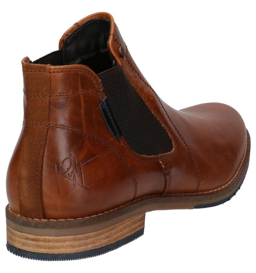 Bullboxer Cognac Boots in leer (276986)