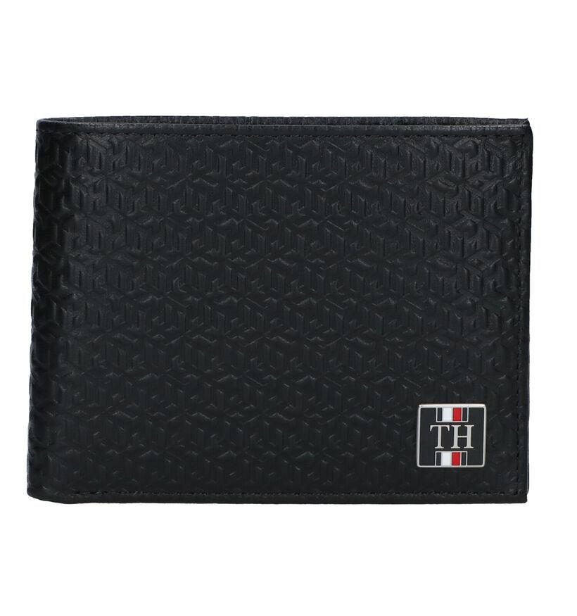 Tommy Hilfiger Zwarte Portefeuille in leer (276522)