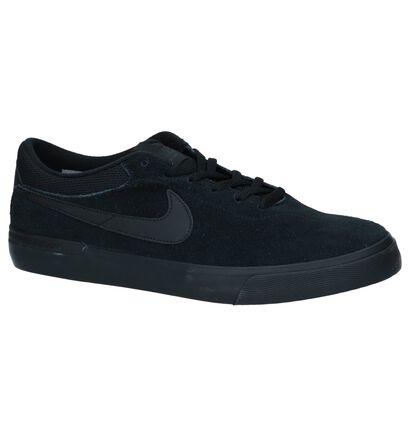 Nike SB Skate sneakers en Noir en daim (233442)