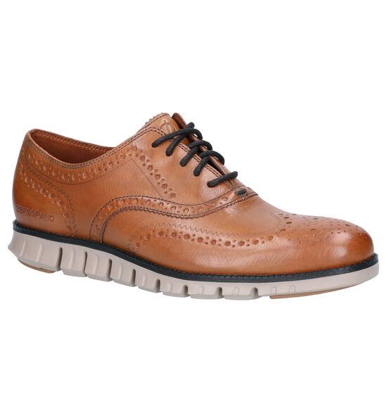 Cole Haan Zerogrand Cognac Lage schoenen