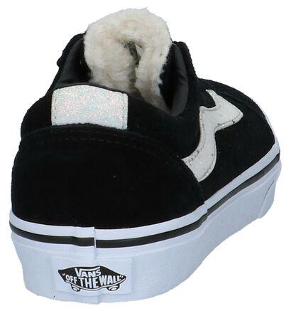 Zwarte Skateschoenen Vans Ward in stof (222633)