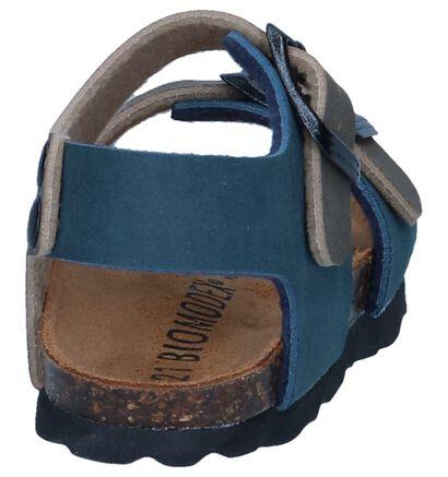 Blauwe Sandalen Biomodex in kunstleer (241457)
