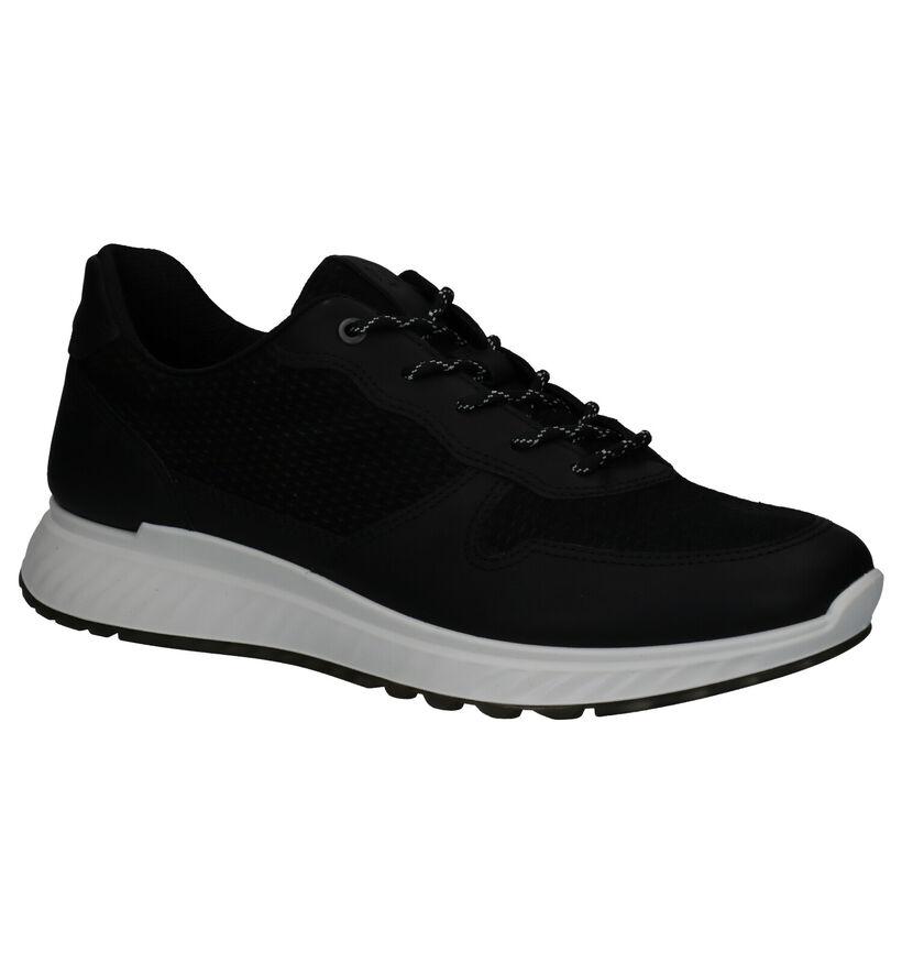 Ecco ST 1 Men's Sneakers en Noir en daim (269721)