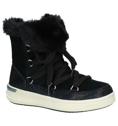 Geox Bottes de neige en Noir en daim (232720)