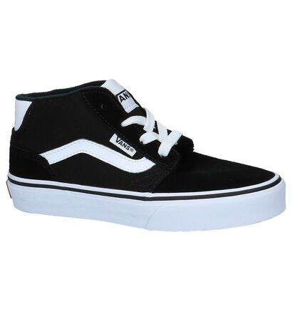 Zwarte Hoge Skateschoenen Vans YT Chapman Mid in stof (210241)