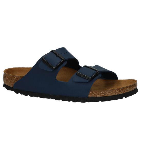 Donkerblauwe Slippers Birkenstock Arizona