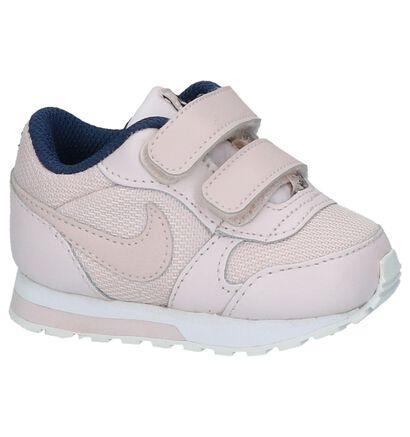 Nike MD Runner Licht Roze Babysneakers in kunstleer (209985)