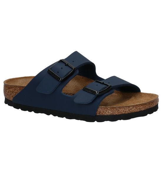 Birkenstock Arizona Blauwe Slippers