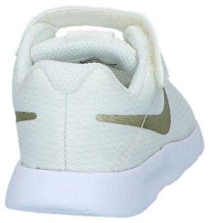 Nike Tanjun Kaki Babysneakers, Wit, pdp