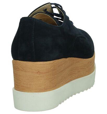 Tine's Chaussures à lacets  (Beige foncé), Bleu, pdp