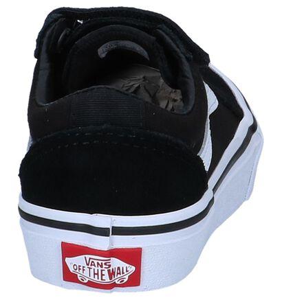 Zwarte Skateschoenen Vans Ward V in stof (247784)