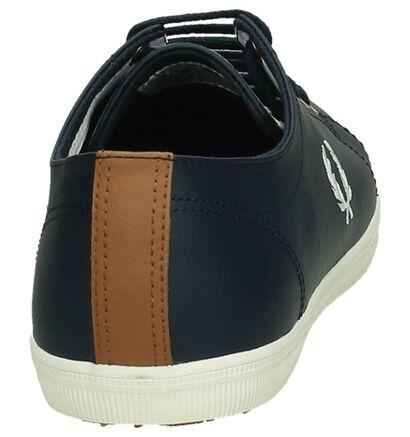 Casual Schoenen Zwart Fred Perry in leer (221453)