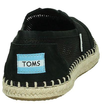 Zwarte Espadrilles Toms, Zwart, pdp