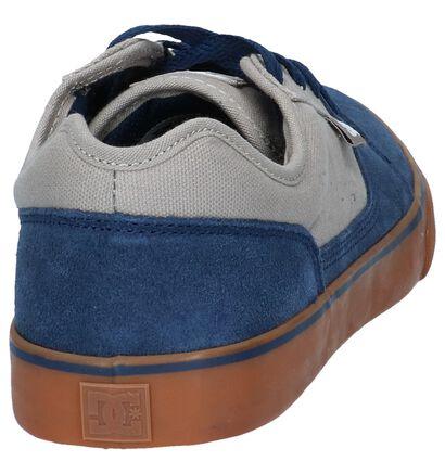 DC Shoes Tonik Zwarte Lage Skate Schoenen in daim (223602)
