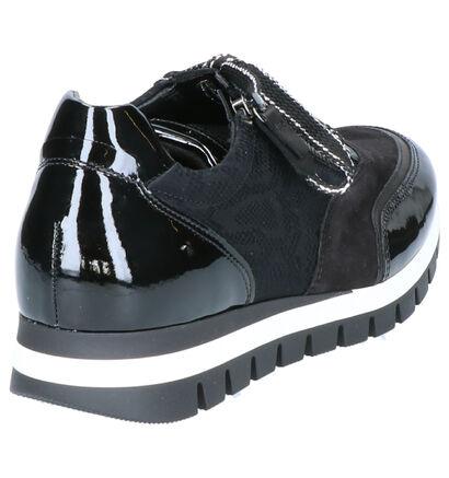 Gabor Comfort Chaussures à lacets en Noir en cuir (260357)