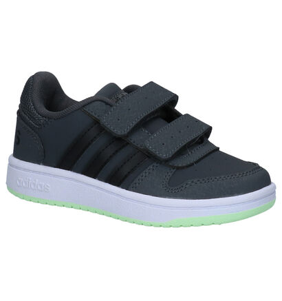 adidas Hoops 2.0 Sneakers Grijs in kunstleer (262056)