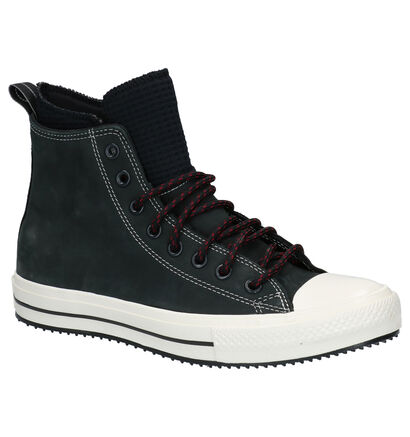Converse Chuck Taylor AS Zwarte Sneakers in nubuck (263437)
