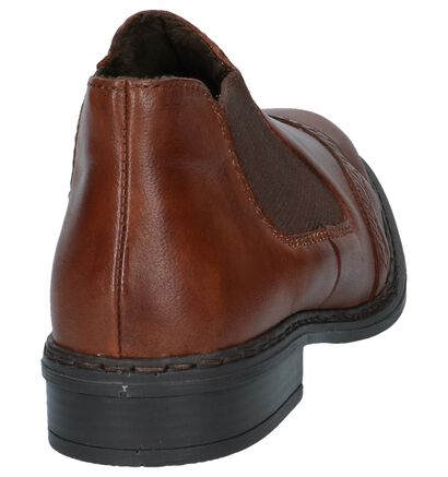 Rieker Chaussures slip-on en Cognac en cuir (241054)