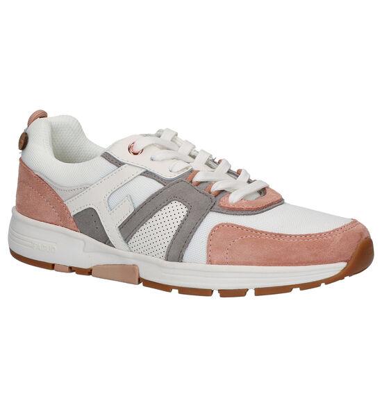 Faguo Chaussures à lacets en Blanc