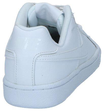 Witte Lage Sneakers Nike Court Royale in leer (233456)