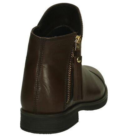 Geox Chaussures hautes en Marron en cuir (200284)