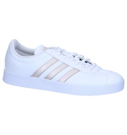 adidas VL Court 2.0 Witte Sneakers in leer (252575)