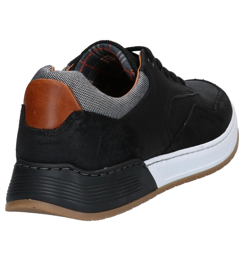 Bullboxer Chaussures basses en Noir en nubuck (278496)