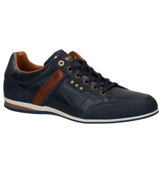 Pantofola d'Oro Roma Low Chaussures à lacets en Bleu