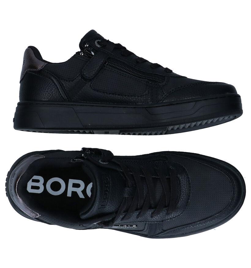 Björn Borg Zwarte Sneakers in kunstleer (279100)