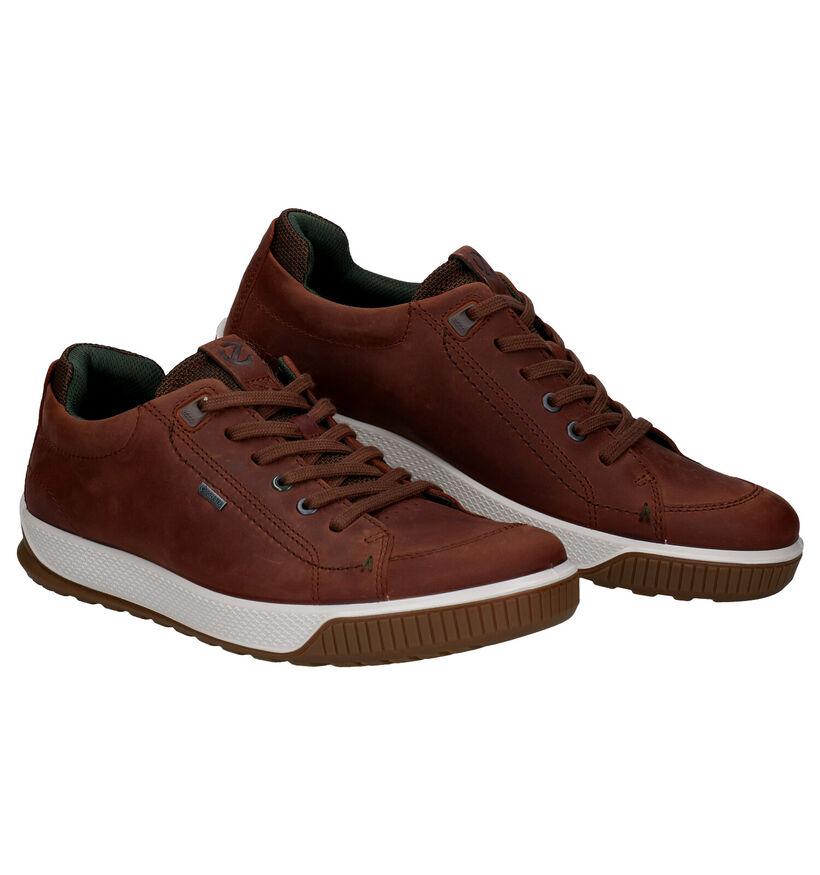 ECCO Byway Chaussures à Lacets en Brun en nubuck (280876)