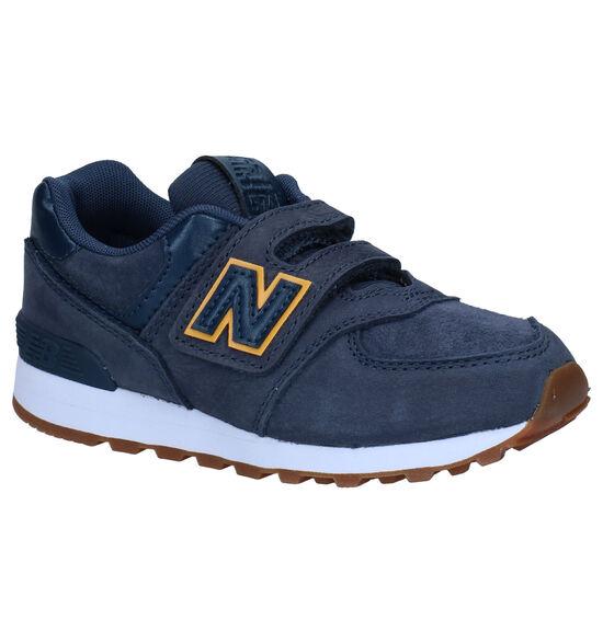 New Balance YV574 Baskets en Bleu
