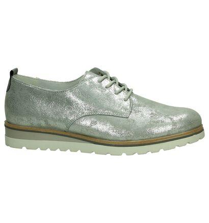 Remonte Chaussures à lacets en Argent en daim (190392)