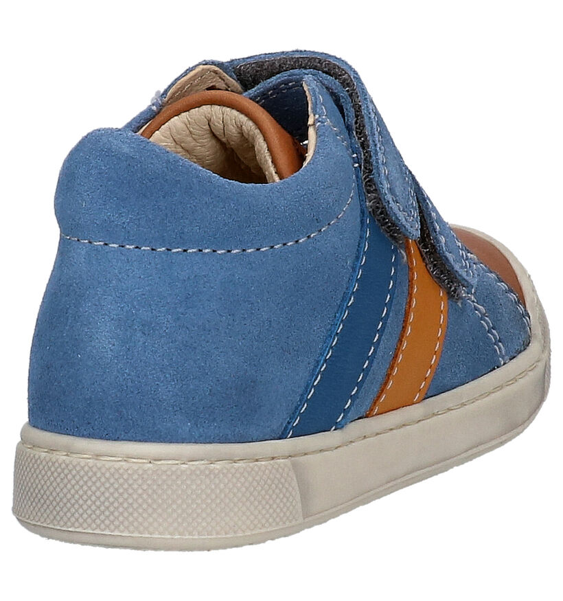 Falcotto Gazer Chaussures à velcro en Bleu en daim (275704)