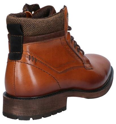 Borgo Sport Gotland Cognac Boots in leer (254840)