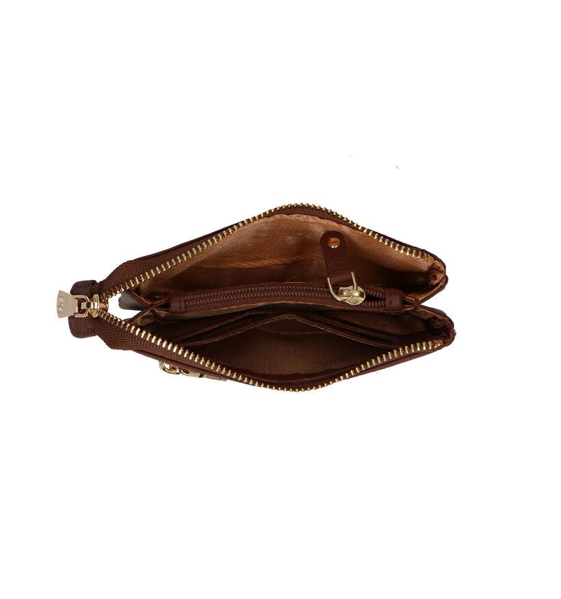 Crinkles Portefeuille en Noir en cuir (295938)