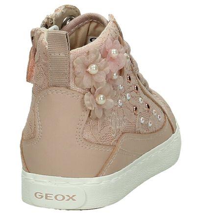 Geox Roze Rits/Veter Sneakers, Roze, pdp