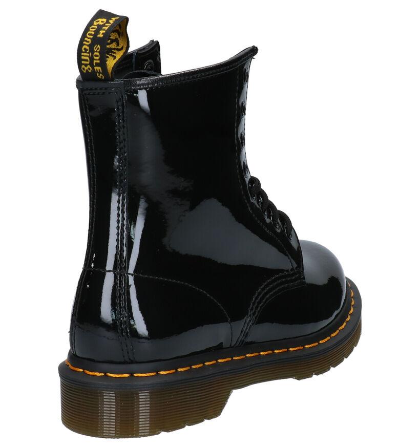 Dr. Martens 1460 Zwarte Boots in lak (253104)
