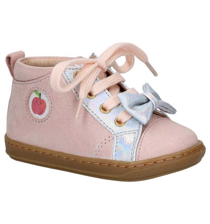 Shoo Pom Bouba Zippy Chaussures pour bébé en Bleu en cuir (279226)