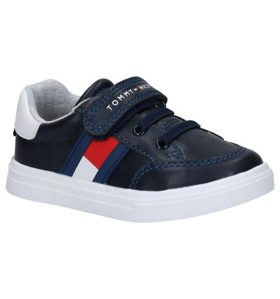 Tommy Hilfiger Blauwe Velcroschoenen