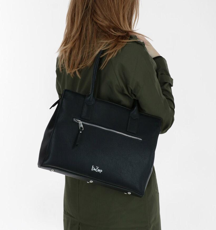 Via Limone Sac d'ordinateur portable en Noir en simili cuir (282209)