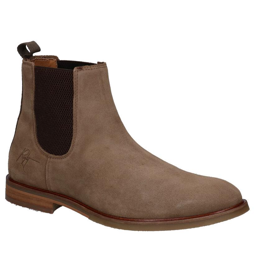 Bullboxer Boots Chelsea en Beige en nubuck (281287)
