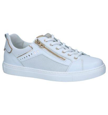 Witte Schoenen met Rits/Veter NeroGiardini, Wit, pdp