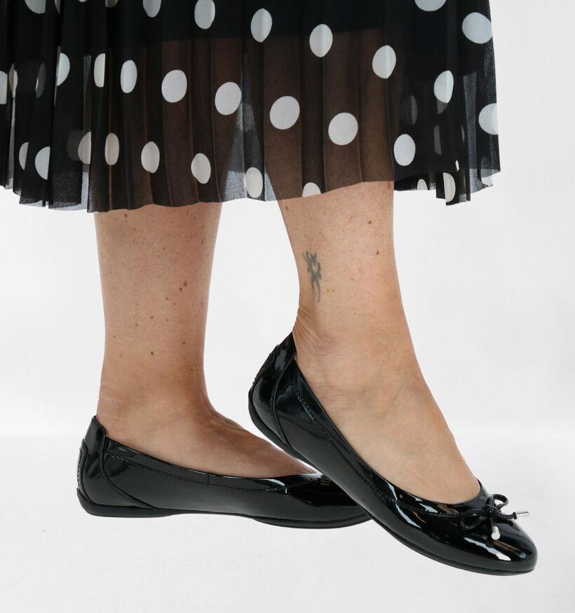 Geox Charlene Ballerines en Noir en simili cuir (277059)