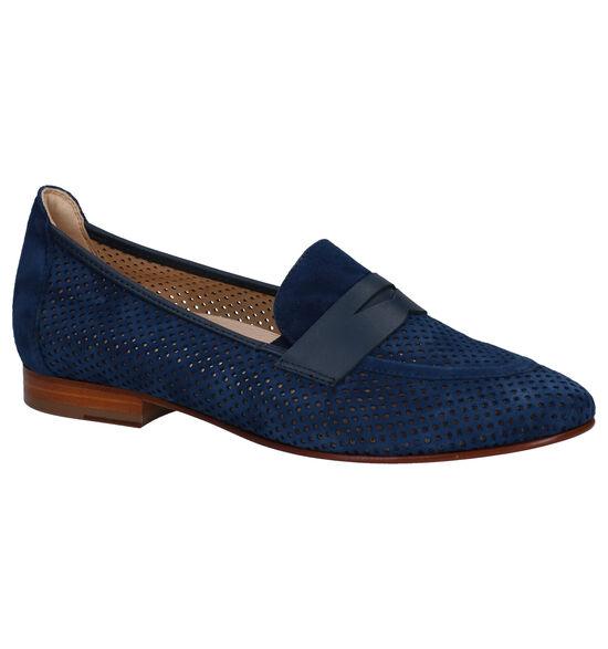 Softwaves Loafers en Bleu foncé