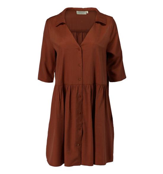 Cherry Paris Robe chemise en Brun