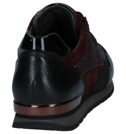 Gabor Comfort Baskets basses en Noir en cuir (231167)