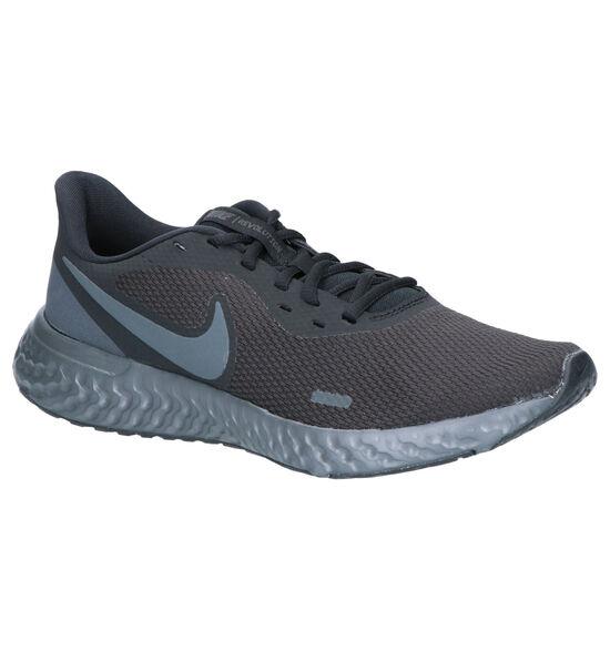 Nike Revolution 5 Zwarte Sportschoenen