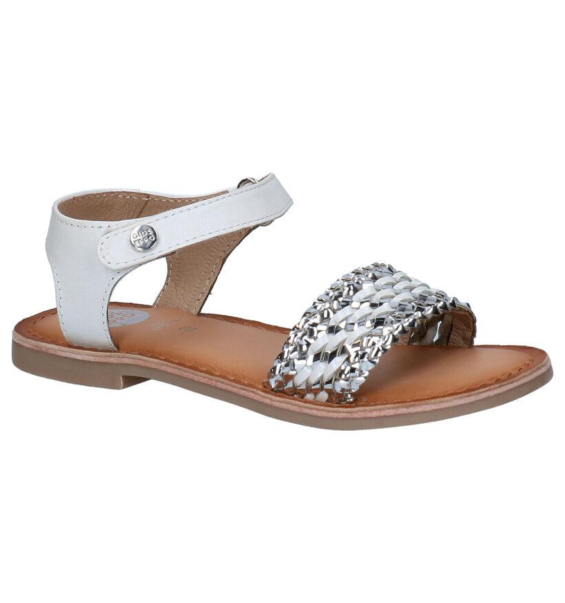 Gioseppo Witte Sandalen in leer (270848)