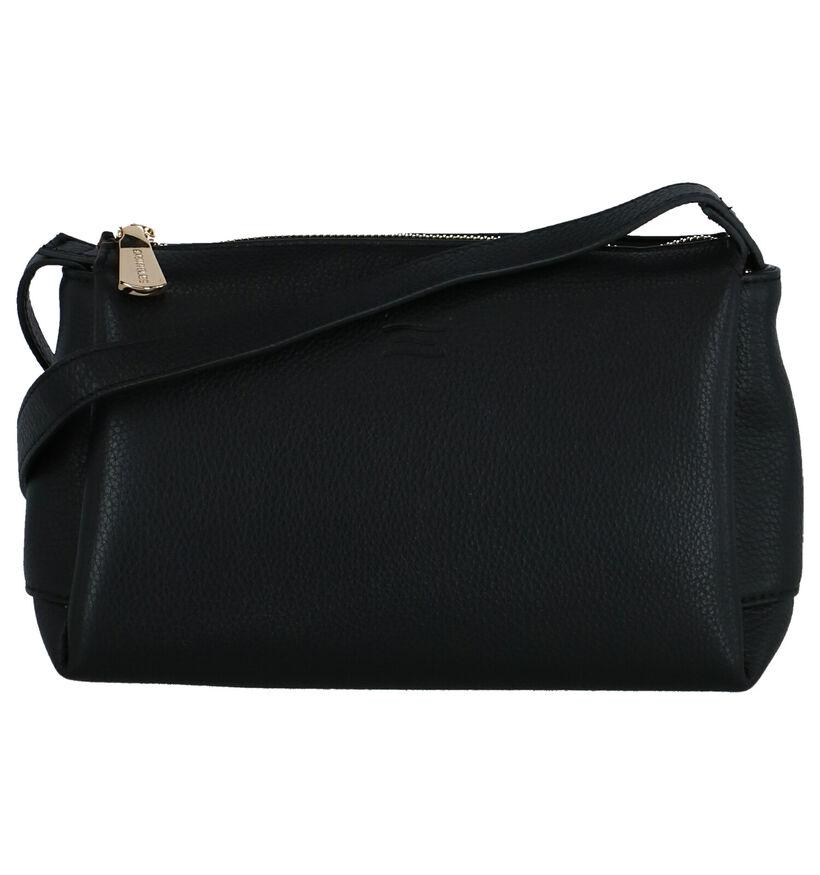 Crinkles Sacs porté croisé en Noir en cuir (261930)