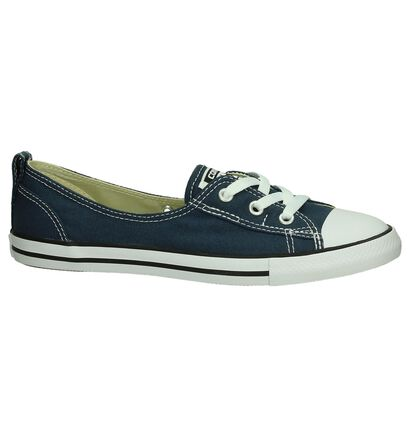 Converse Chuck Taylor All Star Ballet Sneakers, Blauw, pdp